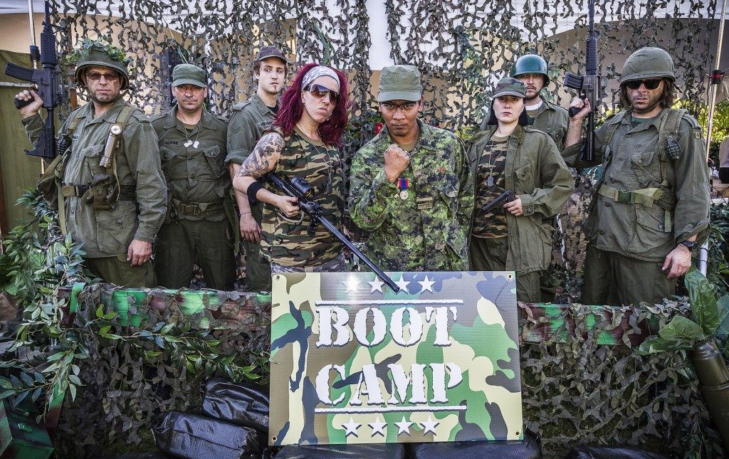 Boot Camp Militaire